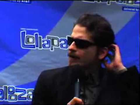 Interview with Daniel and Carlos of Interpol at Lollapalooza Festival 2007