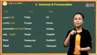 Tiếng anh lớp 11 - A Party - Grammar & Pronunciation
