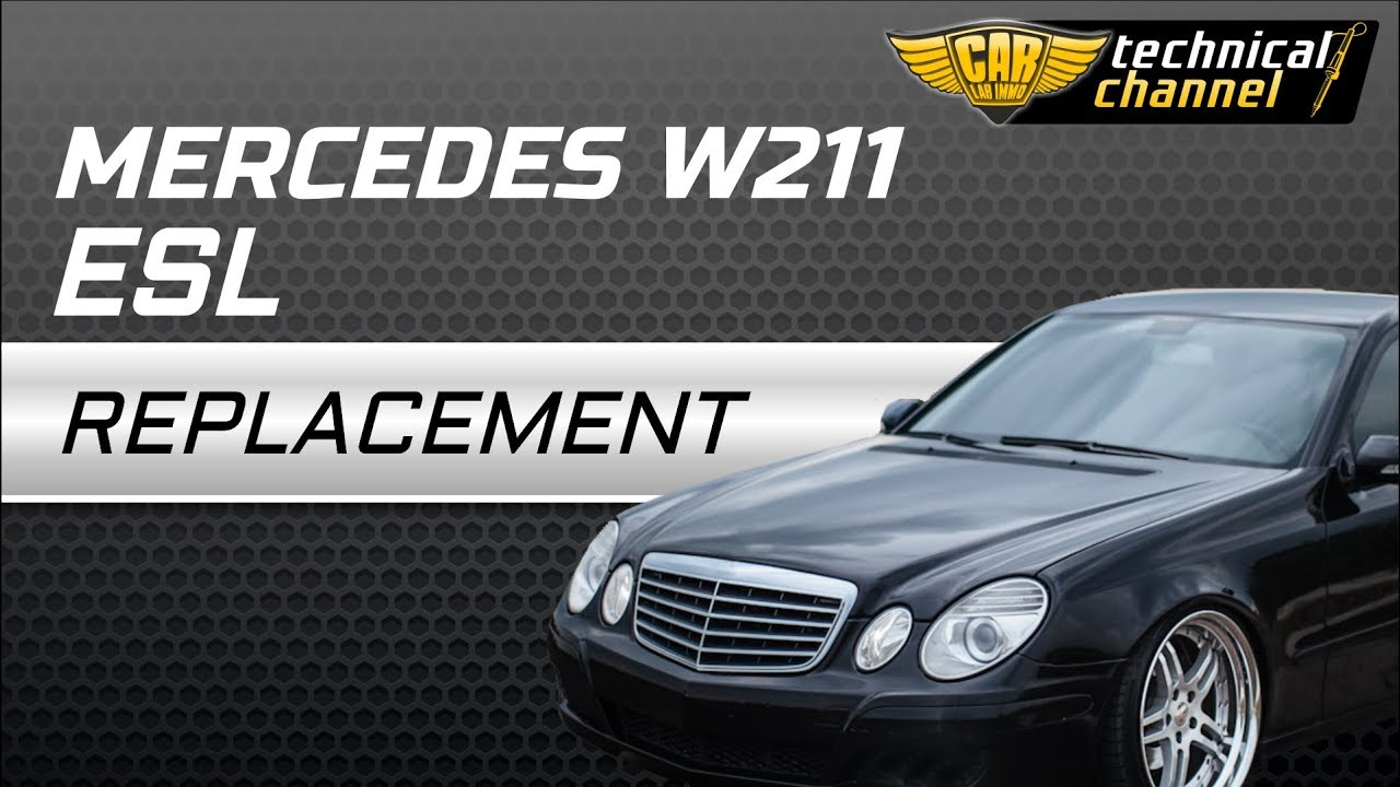 mercedes w211 esl elv replacement with julie emulator youtube rh youtube com Mercedes W212 Mercedes W220 Rear Diffuser