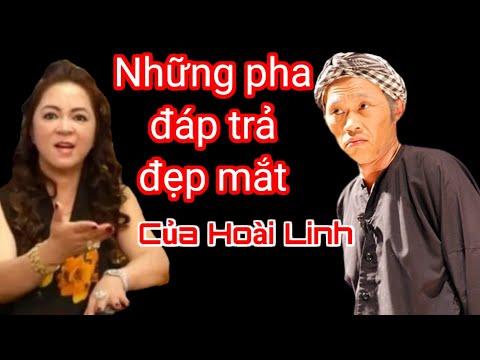Những pha đáp trả đẹp mắt của Hoài Linh cho bà Nguyễn Phương Hằng