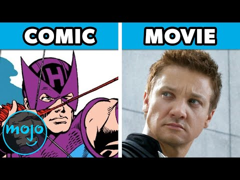 Top 10 Biggest MCU Changes from The Comics