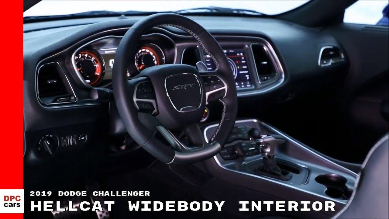 2019 Dodge Challenger Hellcat Widebody Interior