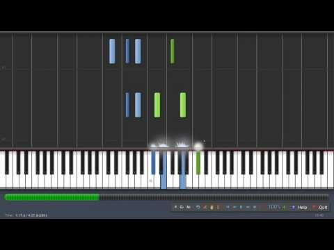 Goldmund  Threnody synthesia piano tutorial