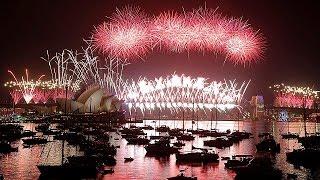 видео Новый год от Австралии до Японии!
