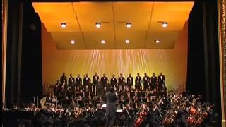 Addie MS leading Twilite Orchestra and chorus Performance in Bratislava  (Part 10)
