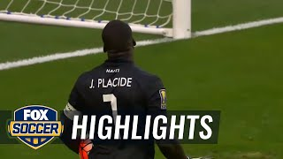 Haiti vs. Honduras - 2015 CONCACAF Gold Cup Highlights