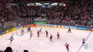 MS v hokeji 2015 Česko - Švýcarsko 2:1