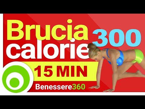 Bruciare 300 Calorie in 15 Minuti per Dimagrire