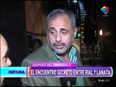 Rial se cruzó a Jorge Lanata en un restaurante y…