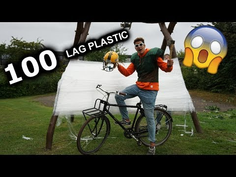 100 LAG PLASTIC WRAP!