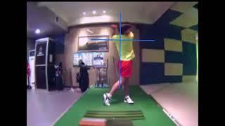 P아이언 스윙 골프