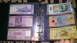 my banknotes collection 2015 part 2
