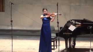 "Ivan Fedele ""Thrilling Wings""  Diana Pasko Violin Solo"