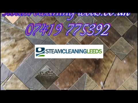 How To Clean Natural Stone Tiles ? How To Clean Stone Floor Tiles  - Steam Cleaning Leeds