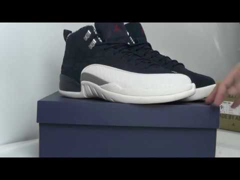 on sale f6cdb 7bfa0 Nike Air Jordan 12 International Flight Unboxing Review