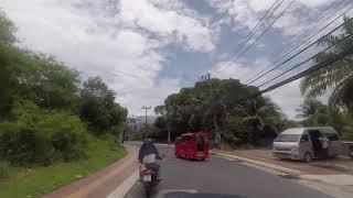 Тайланд, Пхукет, Патонг. Поездка на мопеде с Патонга до пляжа TRI TRANG BEACH 2019