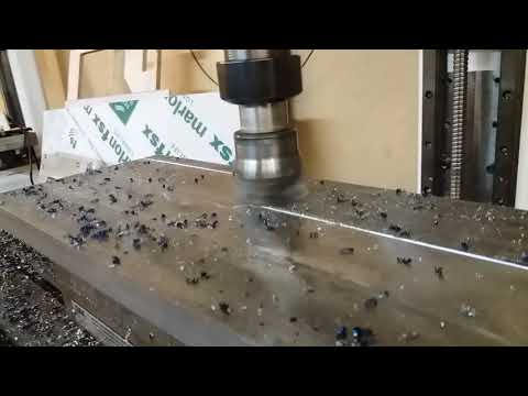 Diy cnc milling machine + 50mm facemill