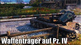 РЕКОРД ПО УРОНУ Waffenträger auf Pz. IV 🌟 WORLD OF TANKS лучший бой на пт-сау 9 уровень