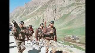 Mohd Rafi Karchale Hum Fida Ab Tumhare Hawale Watan Saathiyo - Haqeeqat - Kargil Video by Mayank