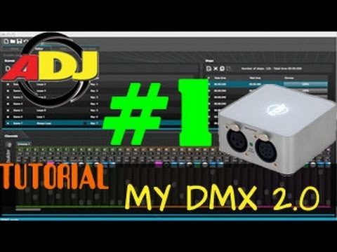 ADJ myDMX 2.0 - TUT Teil 1