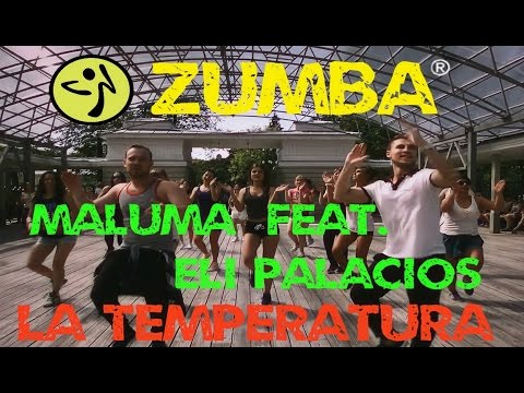 Maluma feat. Eli Palacios – La Temperatura ZUMBA®