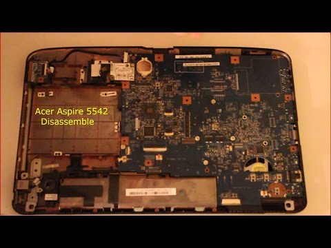 Acer Aspire 5542 Disassembly