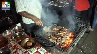 PORK RIB BBQ | GOA STREET FOOD | GOA CARNIVAL | RARE STREET FOOD street food