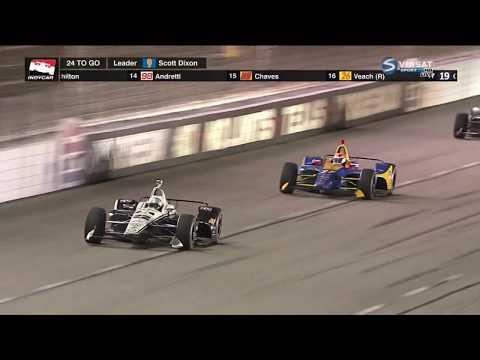 IndyCar Series 2018. Texas Motor Speedway. Last Laps