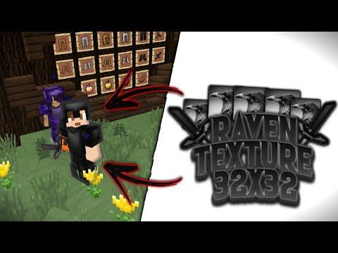 MCPE PVP TEXTURE PACK | Raven 32x (1.7.0)