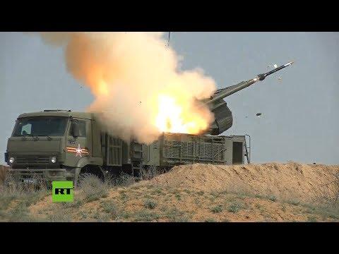 Rusia Realiza Maniobras Con Sistemas De Defensa Antiaérea Pántsir-S1