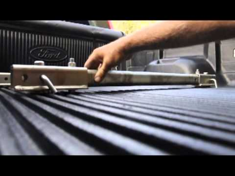 Fifth Wheel To Gooseneck Hitch >> Pullrite hitch rail - YouTube