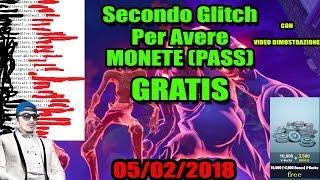 SECOND METHOD FOR HAVING V BUCKS MONETE (PASS) FREE ON FORTNITE - GLITCH