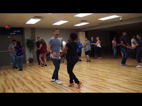 Bachata Group Lessons. Alpha Midway Dance Studio Dallas
