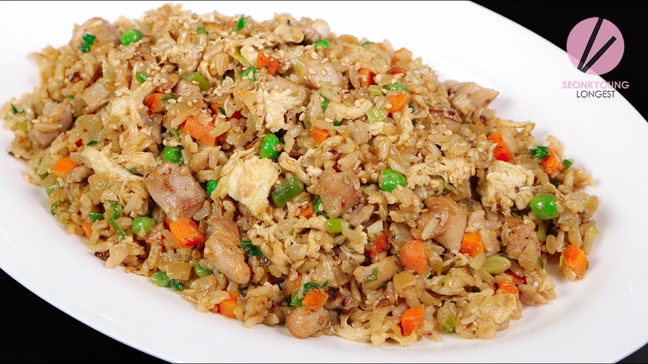 Chicken fried rice youtube asian at home s7 e35 ccuart Image collections