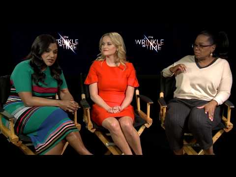 Mindy Kaling, Reese Witherspoon & Oprah Winfrey: A WRINKLE IN TIME