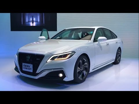 2018 Toyota Crown Concept