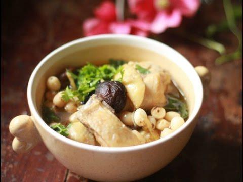 Gà hầm hạt sen – Hướng dẫn nấu ăn – Món ngon mỗi ngày – Món ngon dễ làm