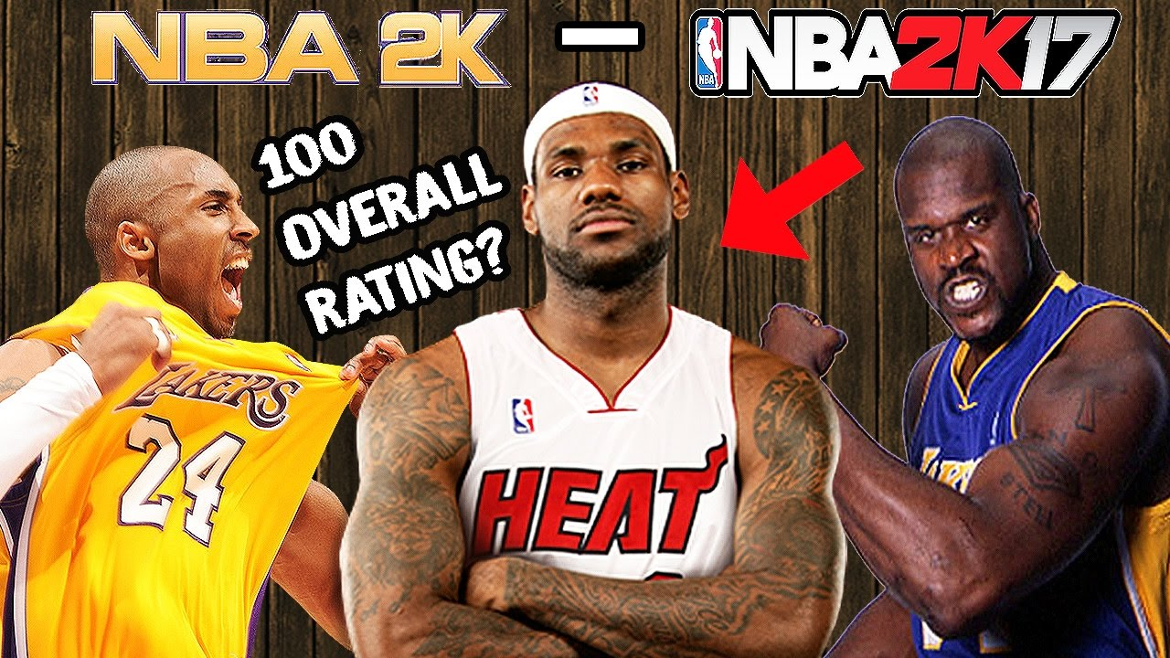 Highest Rated Players Ever In NBA 2K - 2K17 - YouTube