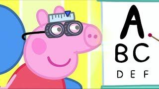 小猪佩奇 | 精选合集 | 1小时 | 检查视力| 粉红猪小妹|Peppa Pig Chinese |动画