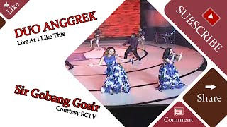 Gambar cover DUO ANGGREK [Sir Gobang Gosir] Live At I Like This (25-01-2015) Courtesy SCTV