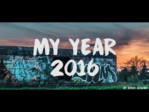 MY YEAR 2016 - BENCE LENDVAY (SAM KOLDER INSPIRED)