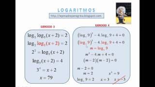 logaritmos teoría y práctica (PARTE 1)