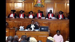 Supreme court invalidates President Uhuru Kenyatta's re-election