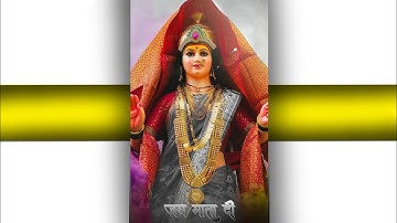 Navratri Whatsapp Status 2021  Navratri Fullscreen Status  Day 3 grey colour   Durga Maa status