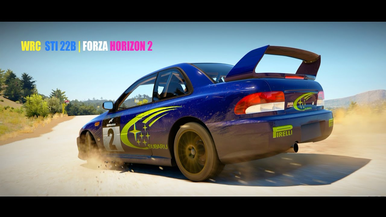 2014 Wrx Sti >> FORZA HORIZON 2 | Rally SUBARU STI 22B - WRC Legend! - YouTube