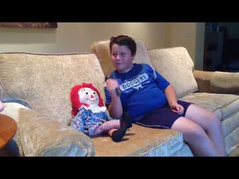 LIVE INTERVIEW WITH RAGGEDY ANN