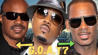 """Donnell Jones SHUTS DOWN The Debate On R Kelly Being The R&B GOAT! """"R CANT TOUCH Stevie Wonder!"""""""