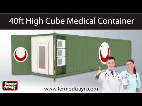 Mobile Hospital Container