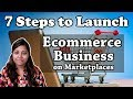 How to Start Online Selling Business | Simple 7 steps to start ecommerce business in India in Hindi