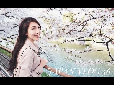 JAPAN VLOG: TOKYO'S CHERRY BLOSSOMS IN FULL BLOOM!